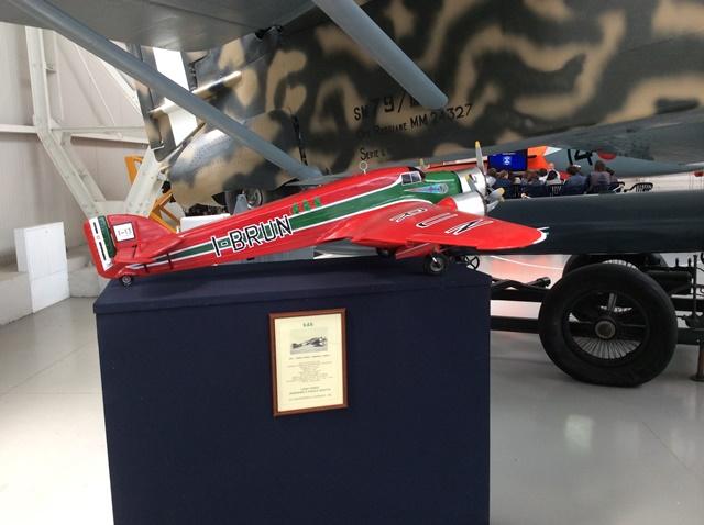 SM79 Versione Corsa – modello volante restaurato