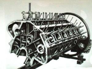 Officine Reggiane - blocco motore 6