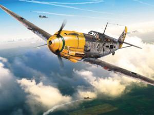 Officine Meccaniche Reggiane - resti sull'Appennino Reggiano di un Messerschmitt BF 109