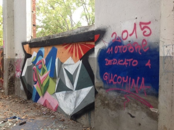 SPAZIO GERRA: STREET ART E WRITING ALLE OFFICINE REGGIANE