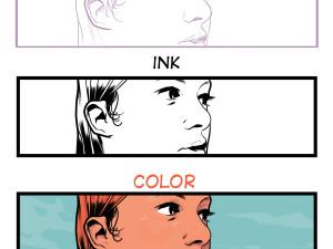 pencil ink
