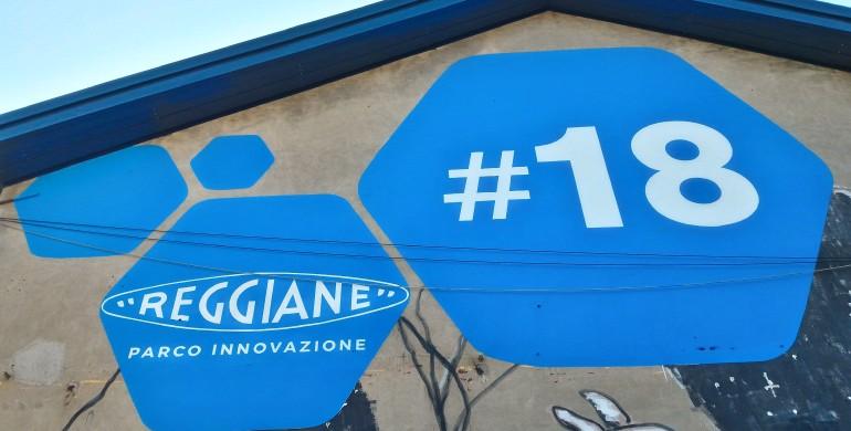 #CAPANNONE 18: IL LOGO REGGIANE TORNA AL SUO SPLENDORE